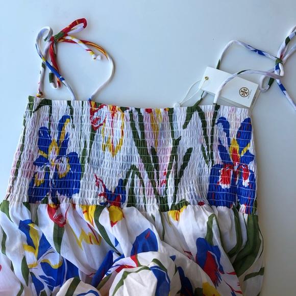 fc5bd2a28e Tory Burch Dresses | Convertible Smocked Iris Beach Dress | Poshmark